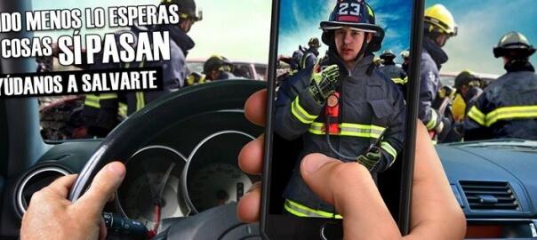 Cuando menos lo esperas las cosas SI pasan, hazte socio de bomberos.