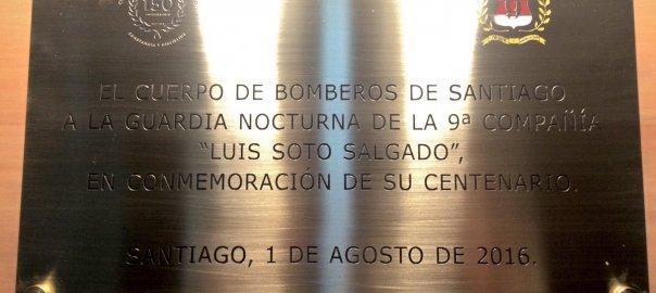 Placa Guardia Centenaria